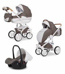 Детская коляска Riko Brano Luxe 3 в 1 цвет 01