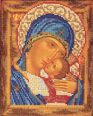 В-181 Богородица Умиление (Мать и Сын)