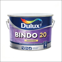 Краска для стен и потолка Dulux BINDO 20 BW (Белый)