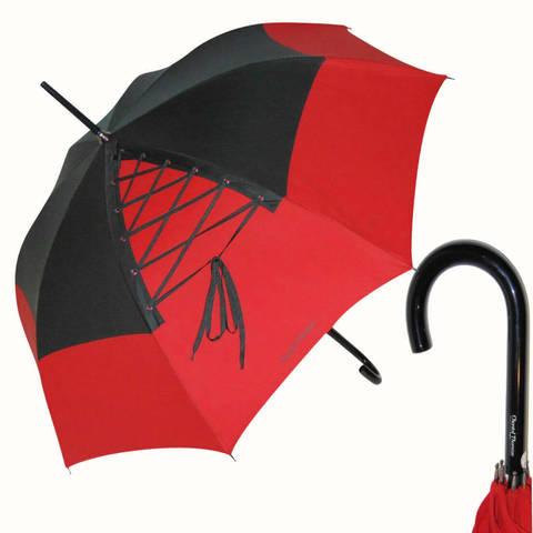 Красный зонт-трость, Франция