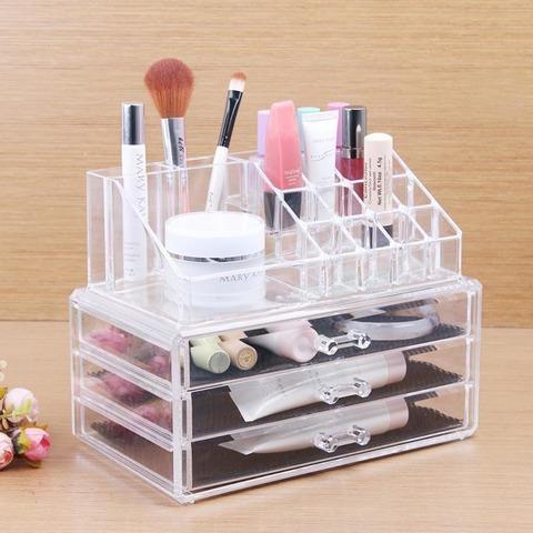 Акриловый органайзер для косметики Cosmetic Storage Box 16 отделений