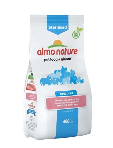 Сухой корм Almo Nature Functional Adult Sterilised Salmon and Rice