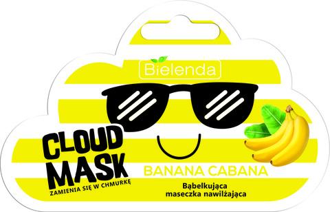 CLOUD MASK кислородная увлажняющая маска Banana Cabana 6g