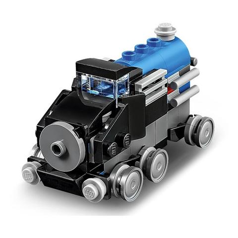 LEGO Creator: Голубой экспресс 30054 — Blue Express — Лего Креатор Создатель