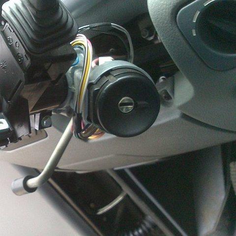 Замена замка зажигания УАЗ Патриот
