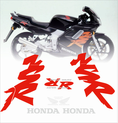 Набор виниловых наклеек на мотоцикл Honda NSR 125 2000