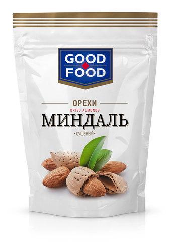 GOOD FOOD Миндаль сушеный 130 г