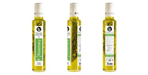 Оливковое масло с розмарином Delicious Crete 250 мл