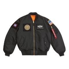 Куртка бомбер Alpha Industries MA-1 Flex Black