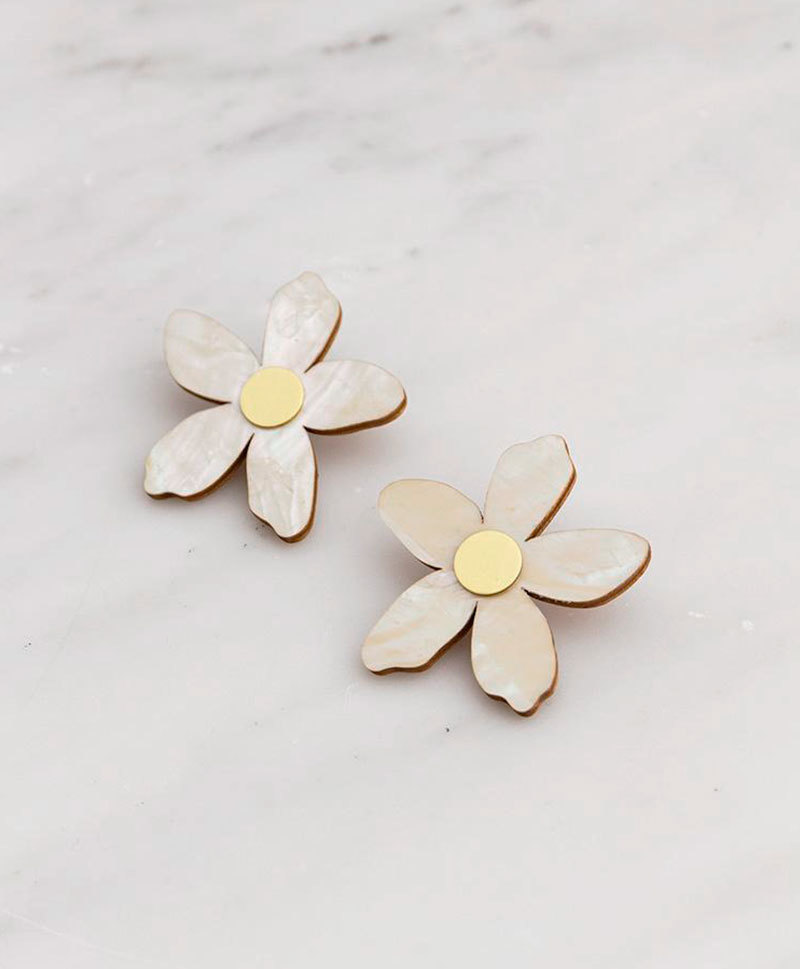 Серьги Orange Blossom Earrings