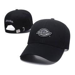 Кепка с логотипом Dickies (Бейсболка) черная 03