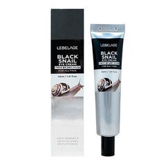 Lebelage Eye Cream Black Snail - Крем для кожи вокруг глаз с муцином чёрной улитки