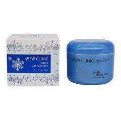 3W Clinic Water Sleeping Pack - Маска для лица увлажняющая ночная