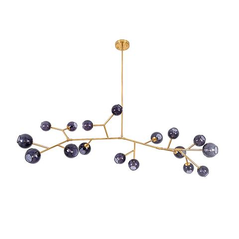 Потолочный светильник копия Last Night Branche by Damien Langlois-Meurinne (синие плафоны)