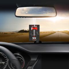 Ароматизатор в авто бумажный SEXDRIVE (в ассортименте)