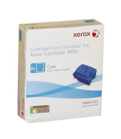 Чернила Xerox 108R01022, голубые (6шт)