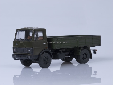 MAZ-5337 board early cabin 1987 khaki AutoHistory 1:43