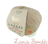 Пряжа Gazzal Baby Cotton 3446 серо-бежевый