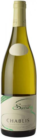 Вино Savary, Chablis AOC, 0.375 л