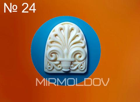 Силиконовый молд Декоративный элемент № 24