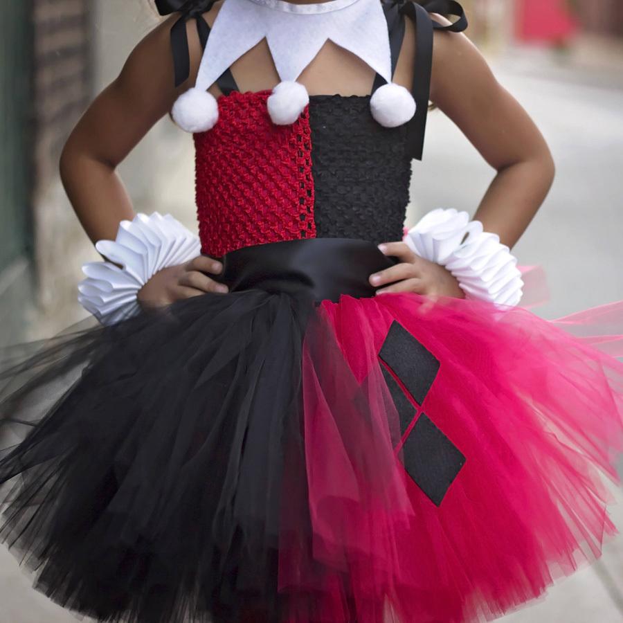Харли Квинн платье пачка для девочки