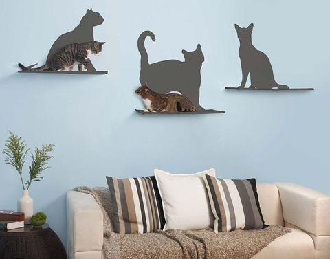 Игровые полки для кошек