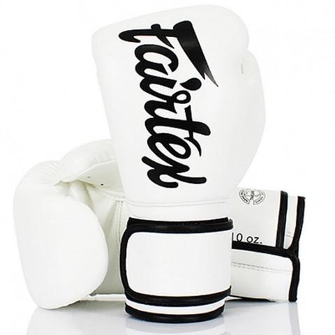 Перчатки для бокса Fairtex Boxing gloves BGV14 White