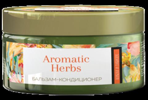 Romax Aromatic Herbs Бальзам-кондиционер Вербена и Гибискус для окрашенных волос 300г