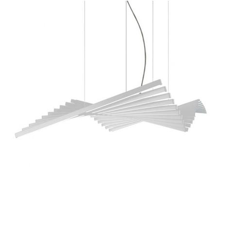 Подвесной светильник Rhythm by Vibia L190 (белый)