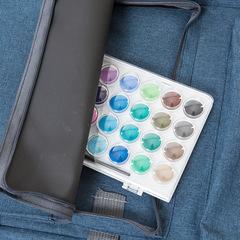 Сумка-рюкзак трансформер для художественных принадлежностей, синий цвет