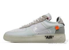 Кроссовки мужские OFF White x Nike Air Force White
