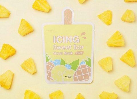 Маска-мороженное листовая A'PIEU Icing Sweet Bar Sheet Mask