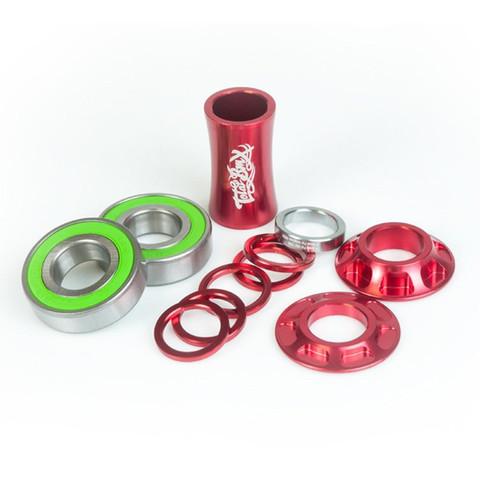 BMX Каретка TOTAL BMX Team Mid (Red)