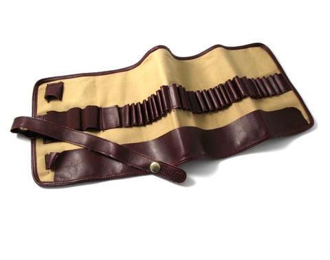 Пенал-свиток для карандашей и кистей, ткань, пустой, 13х21см
