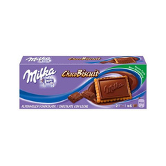 Печенье в шоколаде  Milka Choco Biscuit Cookies