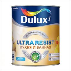 Краска для Кухни и ванной Dulux Ultra Resist BW (Белый)