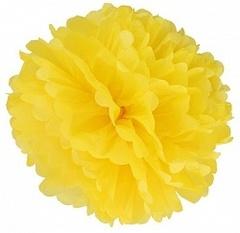 Помпон желтый, 40 см