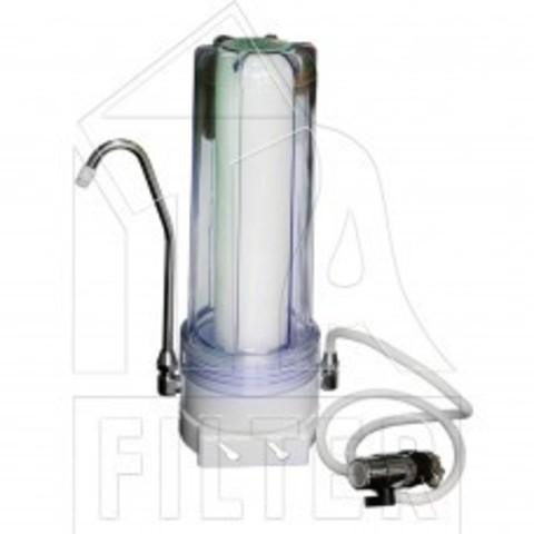 Питьевая система DEPURAL SINGLE (настольный, с дивертором, п/пропилен. картридж) (ИТА), арт.F10102