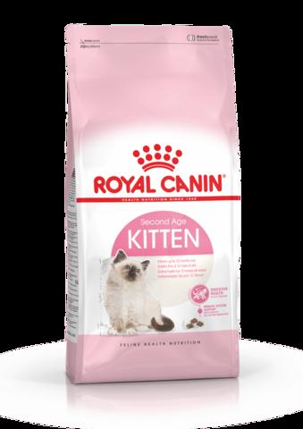 Royal Canin Kitten сухой корм для котят от 4 до 12 месяцев и беременных кошек 300 г