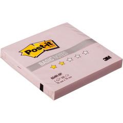 Стикеры Post-it Basic 654R-BP, розовые, 76х76 мм, 100 л