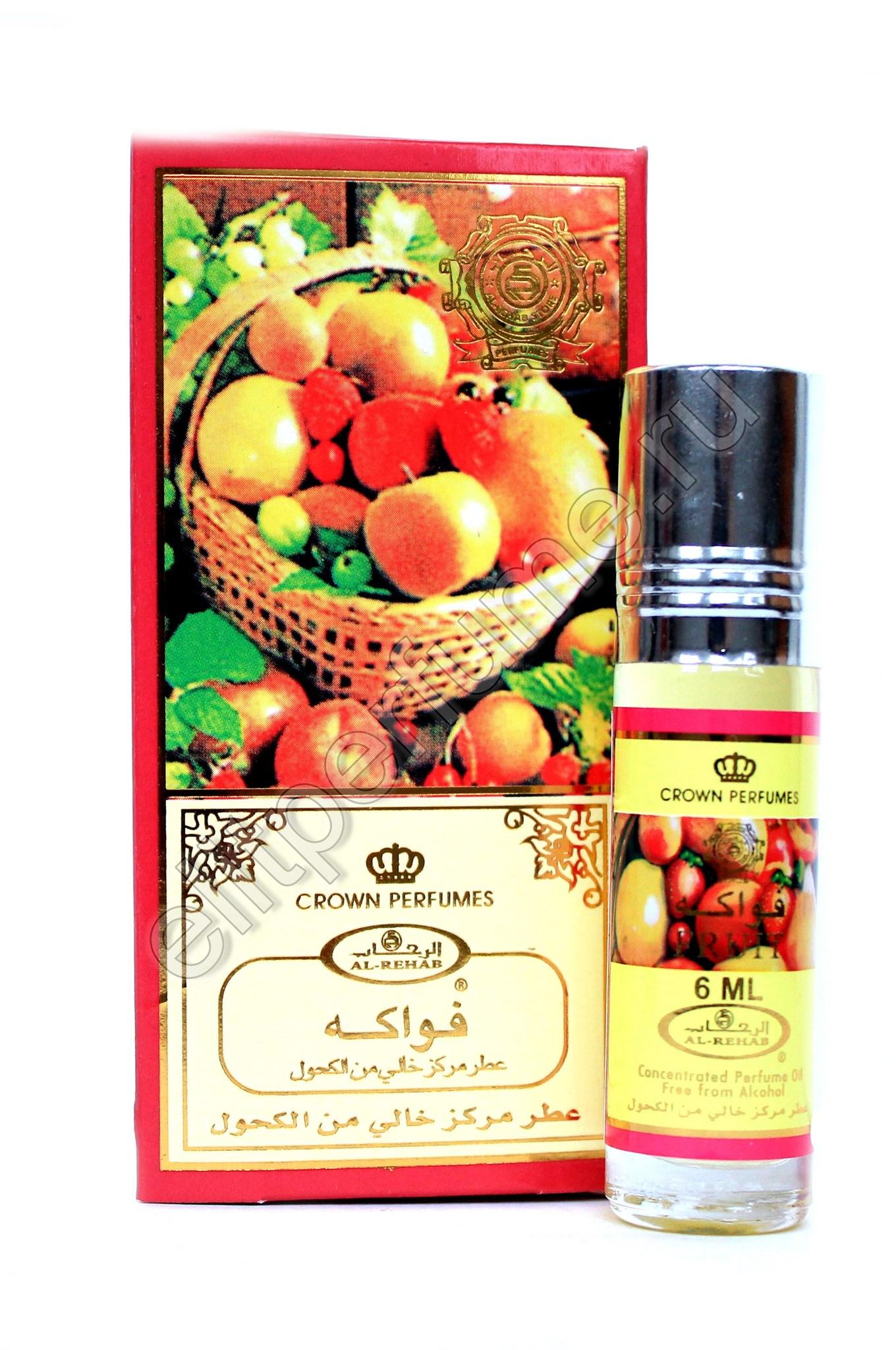 Fruit Фрукт 6 мл арабские масляные духи от Аль Рехаб Al Rehab