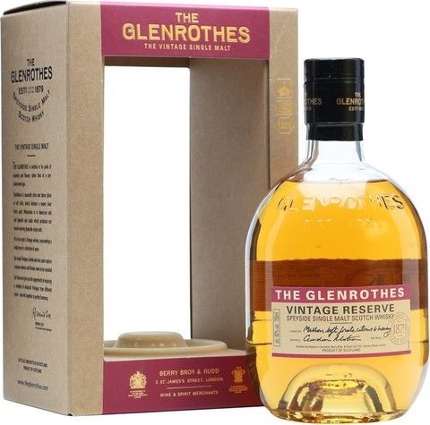 Виски Glenrothes, Vintage Reserve, gift box, 0.7 л