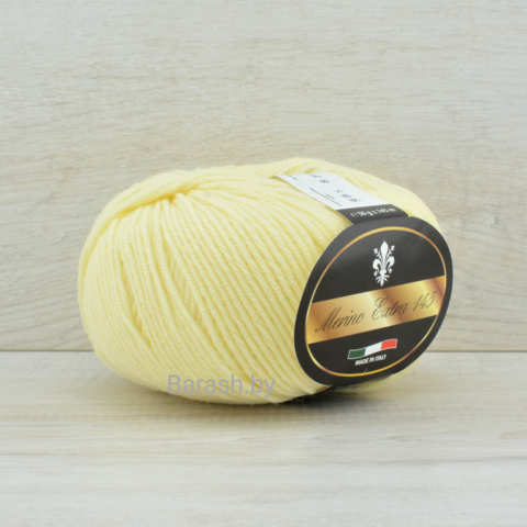 Пряжа Merino Extra 145 (Мерино экстра 145) Светло-желтый