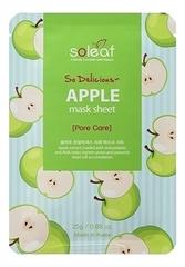 Тканевая маска для лица с экстрактом яблока So Delicious Apple Mask Sheet 25мл
