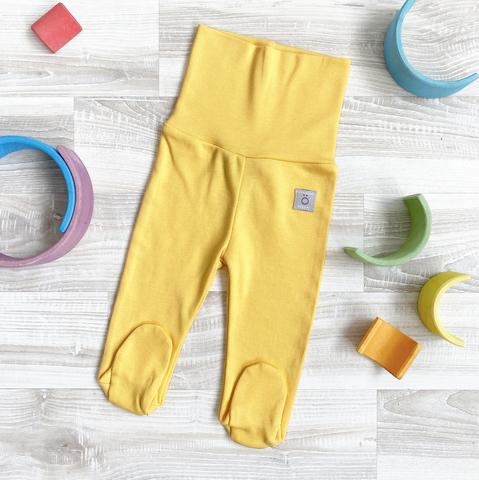 Ползунки Mjölk Minion Yellow на широком поясе