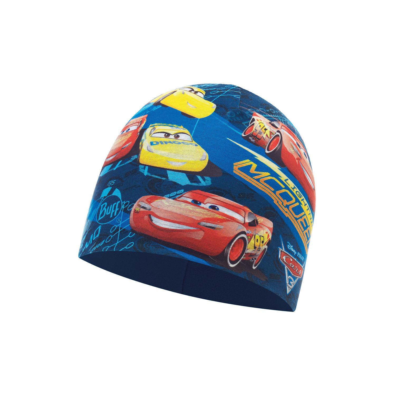 Buff Тонкая шапка из 2-слойного полиэстра Buff Top Cars Blue - Harbor 117320.707.10.00.jpg