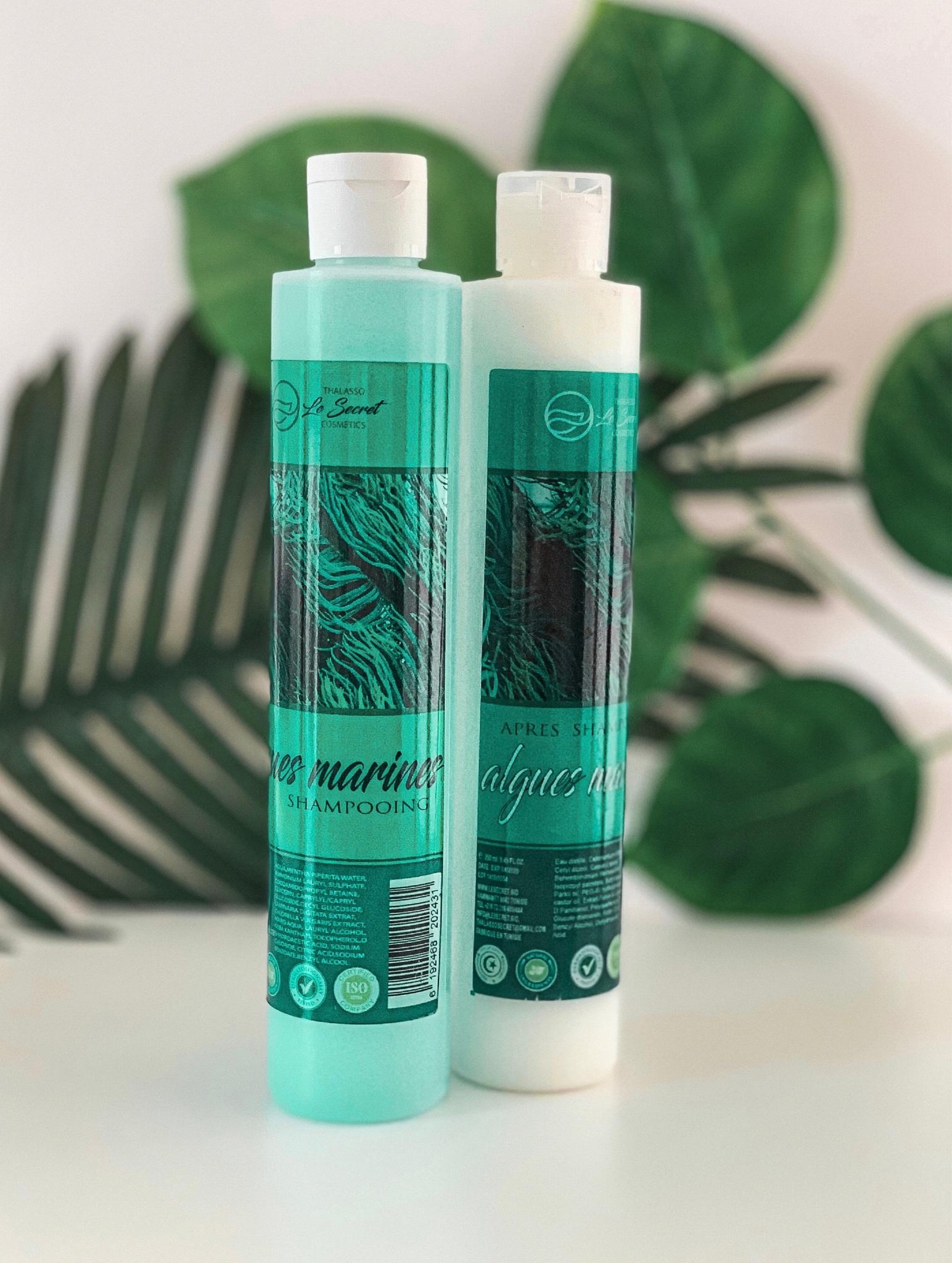 Le Secret Thalasso Бальзам ополаскиватель для волос с Морскими Водорослями