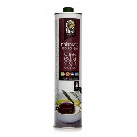 Масло оливковое Минерва Каламата Extra Virgin ж/б 750мл