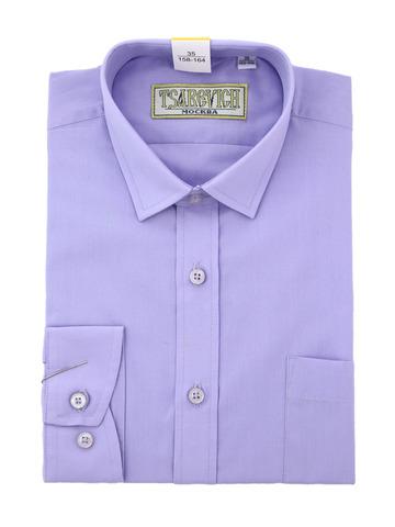 Рубашка однотонная с длинным рукавом Царевич