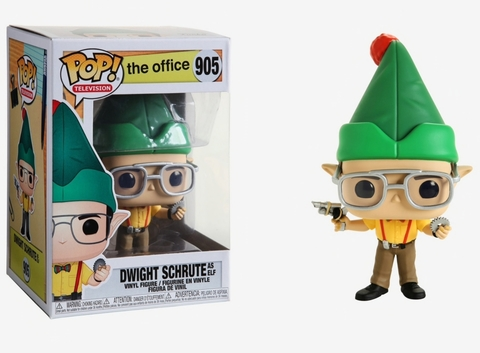 Dwight Schrute as Elf Office Funko Pop! Vinyl Figure || Дуайт Шрут в Костюме Эльфа. Офис